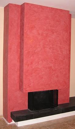 Foc a terra estuc venecià